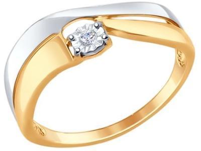 Золотое кольцо SOKOLOV 1011557_17