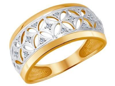 Золотое кольцо SOKOLOV 1011537_17