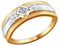 Золотое кольцо SOKOLOV 1011528_17