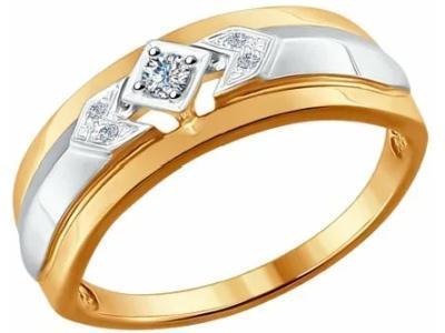 Золотое кольцо SOKOLOV 1011528_175