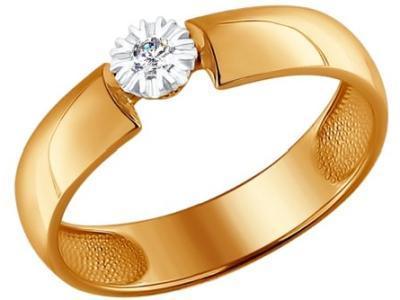 Золотое кольцо SOKOLOV 1011423_17