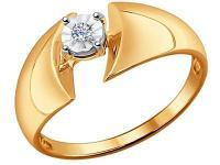Золотое кольцо SOKOLOV 1011411_185