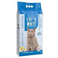 Бентонитовый наполнитель Сat's white Marseiller Soap для кошек (Марсельское Мыло) - 5 кг