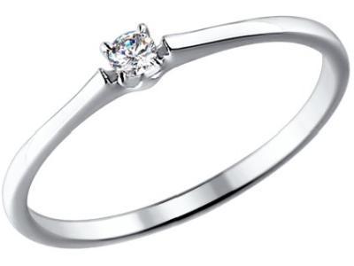 Золотое кольцо SOKOLOV 1011355_16