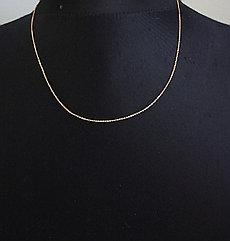 Золотая цепочка 45 см