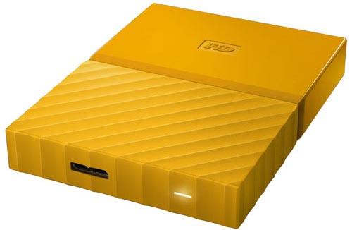 """HDD Western Digital 2Tb, 2.5"""", USB 3.0, Orange"""