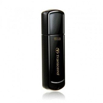 USB Флеш 16GB 2.0 Transcend TS16GJF350 черный, фото 2