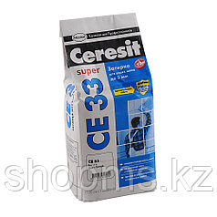 Затирка Cerezit CE 33 SUPER белая 2кг.