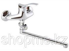 Смеситель ОПТИМА ванна 40 мм, перекл.картр., излив 30 см, L, ОВ2102