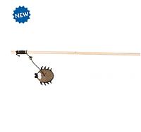 Удочка-дразнилка с пауком Trixie игрушка для кошек c кошачьей мятой - 40 см