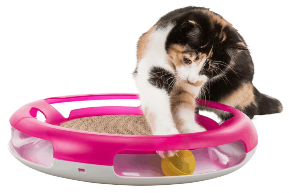 Когтеточка Trixie для кошек с игрушкой - 37 см
