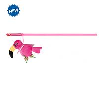 Удочка-дразнилка с туканом Trixie игрушка для кошек - 50 см