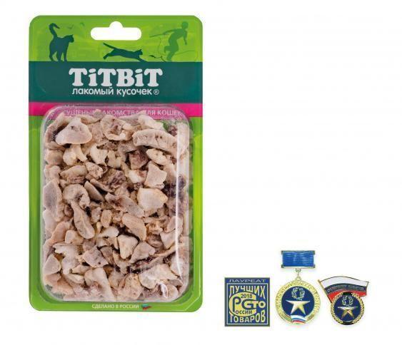 Легкое говяжье Б2-M для кошек, TitBit - 12 г