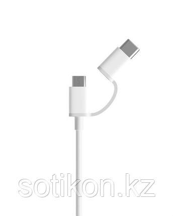 Xiaomi Кабель Xiaomi Mi 2 in 1 USB Cable (Micro USB to Type-C) 30 см, фото 2