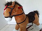 Оригинальная большая музыкальная лошадка-качалка. Kaspi RED. Рассрочка., фото 2