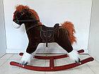 Большая музыкальная лошадка-качалка для детей. Отличный подарок. Kaspi RED. Рассрочка, фото 3