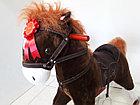 Большая музыкальная лошадка-качалка для детей. Отличный подарок. Kaspi RED. Рассрочка, фото 5