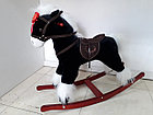 Классная музыкальная лошадка-качалка для детей. Рассрочка. Kaspi RED, фото 3