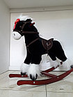 Классная музыкальная лошадка-качалка для детей. Рассрочка. Kaspi RED, фото 4