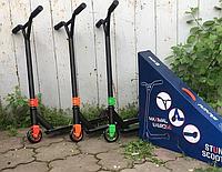 Самокат трюковой stunt scooter (диски у колёс металлические)