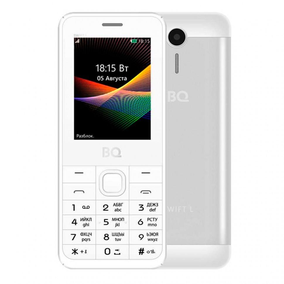 Мобильный телефон  BQ-2411 Swift L Серебряный