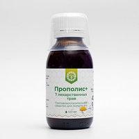 Прополис 7 лекарственных трав (противовоспалительное средство для полости рта, 100 мл)