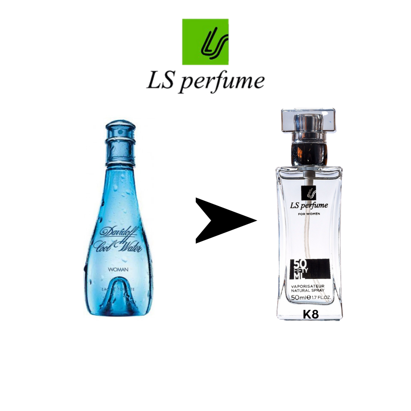 Женский парфюм Davidoff Cool water 50ml.