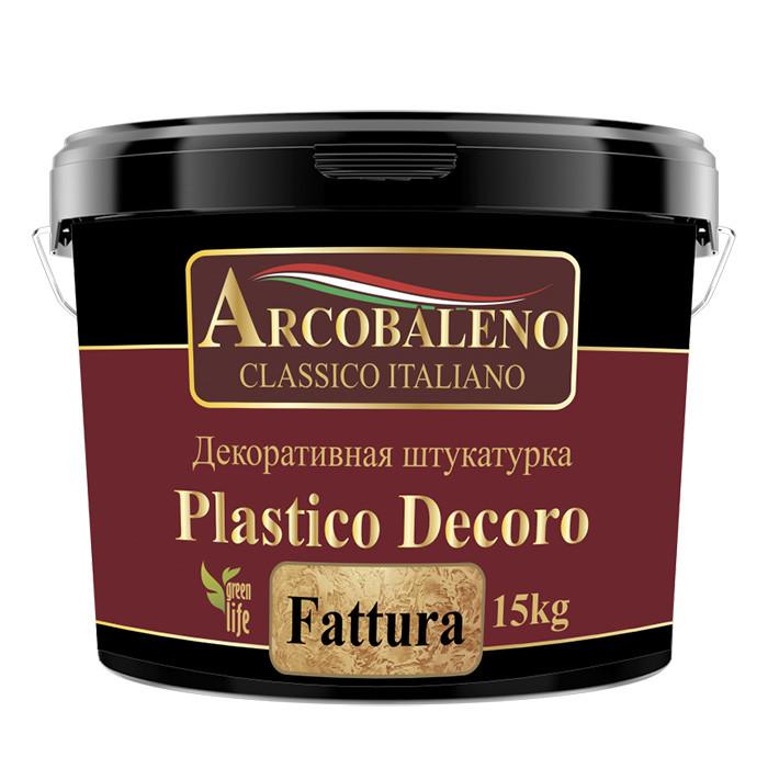 Декоративная штукатурка Arcobaleno Plastico Decoro Fattura
