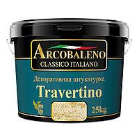 Декоративная штукатурка Arcobaleno Travertino