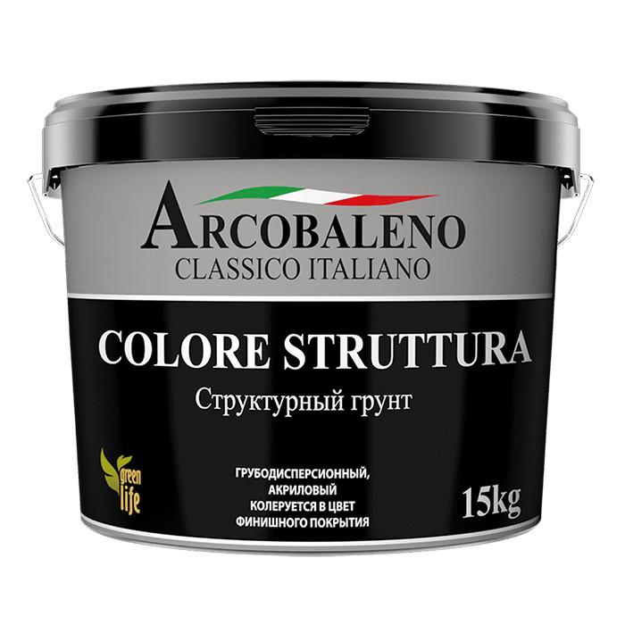 Декоративный структурный грунт Arcobaleno Colore Struttura