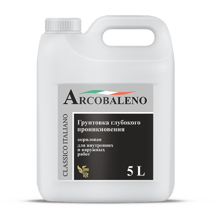 Грунтовка глубокого проникновения Arcobaleno