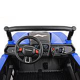RXL Багги 603 12V/7Ah*2;45W*4(муз,свет,надувные колеса,MicroSD) RXL-603-Blue, фото 3