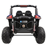 RXL Багги 603 12V/7Ah*2;45W*4(муз,свет,надувные колеса,MicroSD) RXL-603-Blue, фото 6