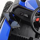 RXL Багги 603 12V/7Ah*2;45W*4(муз,свет,надувные колеса,MicroSD) RXL-603-Blue, фото 8