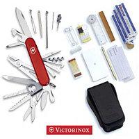 Нож складной набор VICTORINOX SWISSCHAMP SOS-SET