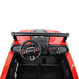 RXL Багги 603 12V/7Ah*2;45W*4(муз,свет,надувные колеса,MicroSD) RXL-603-Red, фото 3