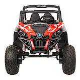 RXL Багги 603 12V/7Ah*2;45W*4(муз,свет,надувные колеса,MicroSD) RXL-603-Red, фото 4