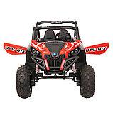 RXL Багги 603 12V/7Ah*2;45W*4(муз,свет,надувные колеса,MicroSD) RXL-603-Red, фото 6