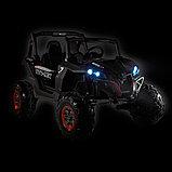 RXL Багги 603 12V/7Ah*2;45W*4(муз,свет,надувные колеса,MicroSD)RXL-603-White, фото 6