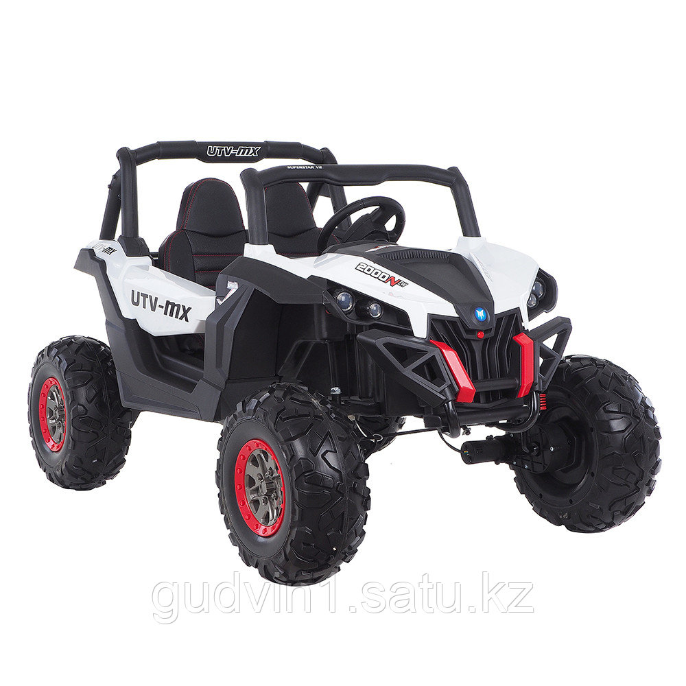 RXL Багги 603 12V/7Ah*2;45W*4(муз,свет,надувные колеса,MicroSD)RXL-603-White