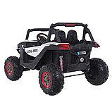 RXL Багги 603 12V/7Ah*2;45W*4(муз,свет,надувные колеса,MicroSD)RXL-603-White, фото 2