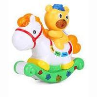 """Развивающая игрушка """"Расти малыш"""" - Медвежонок и лошадка (свет, звук), фото 1"""