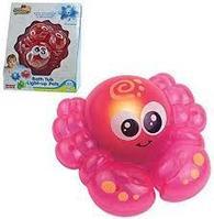 """Игрушка для ванной Hap-p-Kid """"Крабик"""", со светом, серия Little learner"""