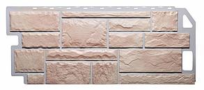 Фасадные панели Бежевый 1130x470 мм (0,5 м2) Камень FINEBER