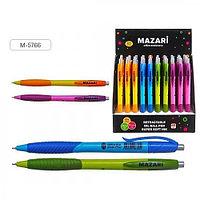 """Ручка шариковая MAZARI """"GRADA"""" автоматическая, 0,7 мм, синяя  M-5766/BU"""