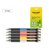 """Ручка шариковая MAZARI """"HILARY"""" автоматическая, 0,7 мм, синяя  M-7300/BU"""
