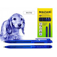 """Ручка шариковая MAZARI """"ORIENT"""" автоматическая, 0,7 мм, синяя  M-5732/BU"""