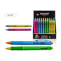 """Ручка шариковая MAZARI """"PUNTO"""" автоматическая, 0,7 мм, масляные чернила, синяя  М-5767 (10485)"""