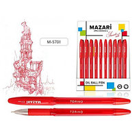 """Ручка шариковая MAZARI """"TORINO"""", 0,7 мм, красная  М-5701/RD"""