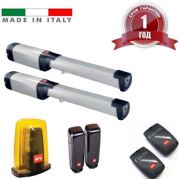 Автоматика на распашные ворота PHOBOS KIT BT A40 FRA BFT Италия, створка до 4м вес до 500 кг.